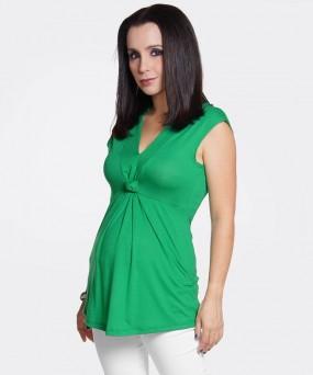 Blusa para embarazada - ANUDADA ESMERALDA