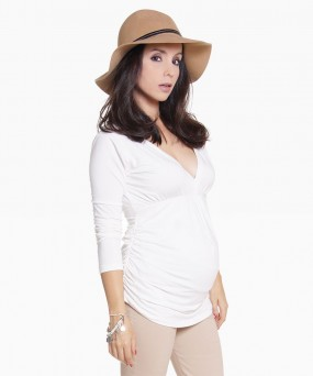 Blusa para embarazada - CHERRY CRUDO