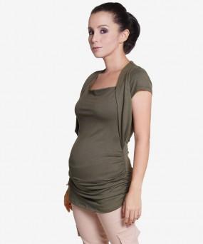 Blusa para embarazada - VERDE MILITAR