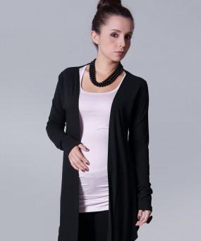 Cardigan para embarazadas - Maxi negro