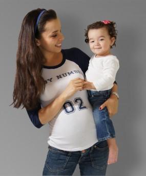 Camiseta para embarazada - Baby number 02