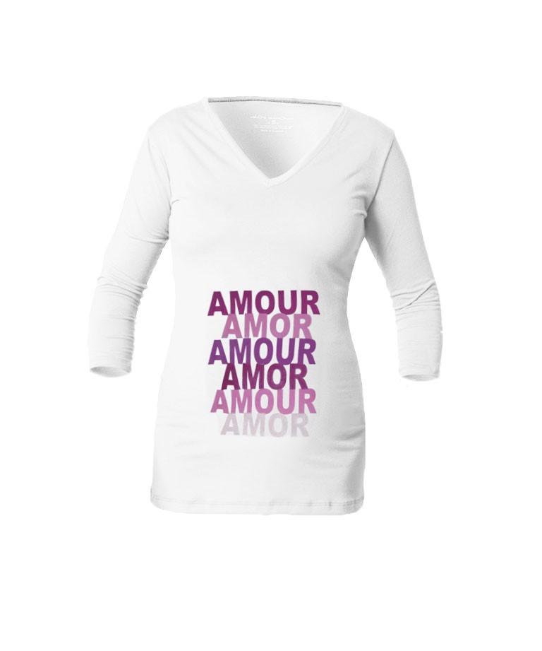 Camiseta para embarazada - Amor Amour