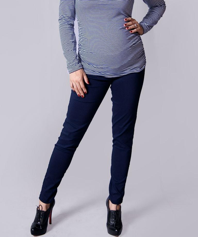 Pantalón para embarazada - Skinny strech navy