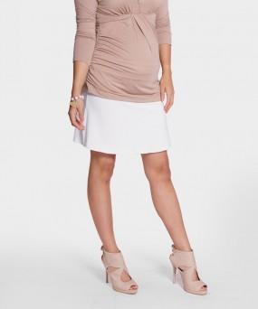 Falda para embarazada - Volada blanca