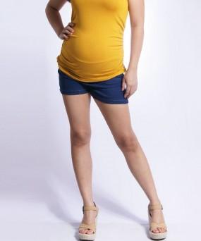 Short para embarazada - Denim