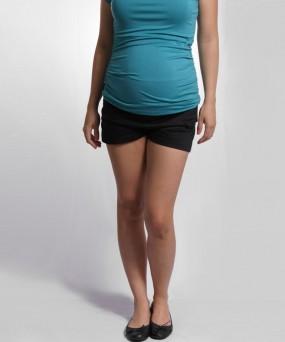 Short para embarazada - Negro