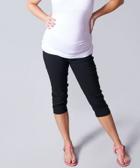 Capri para embarazada - Negro