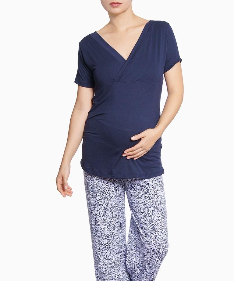 Pijama azul de pepas