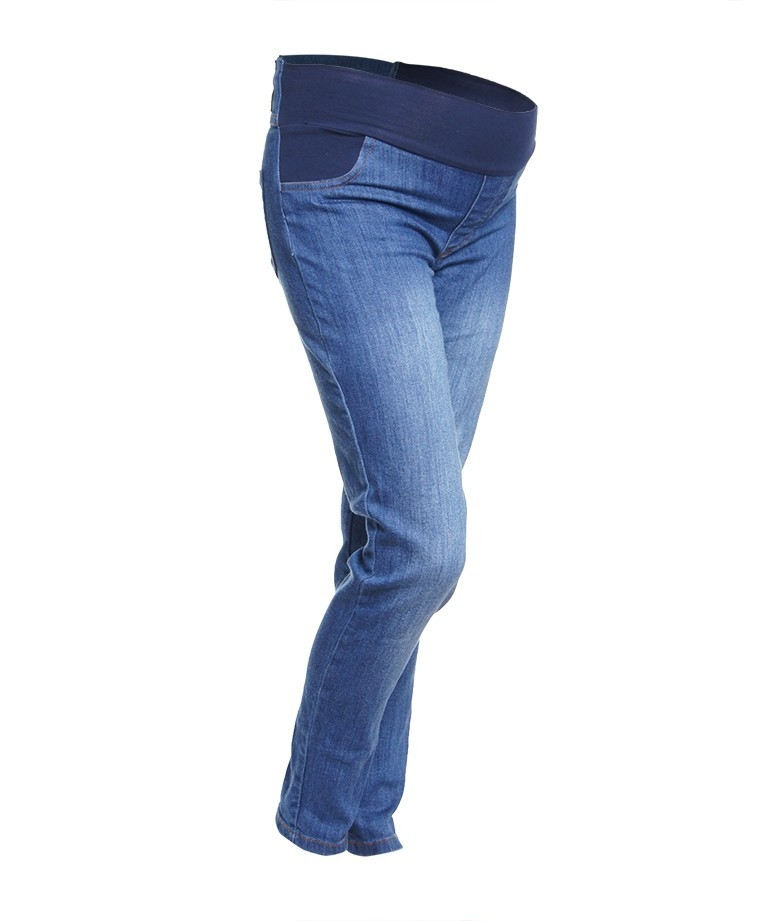 Jeans maternos - STONE WASHED 2