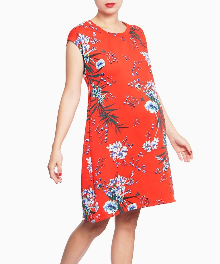 Vestido materno Cap Floral